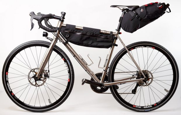A gravel bike that folds