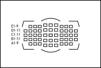 Nikon Focus Point labels