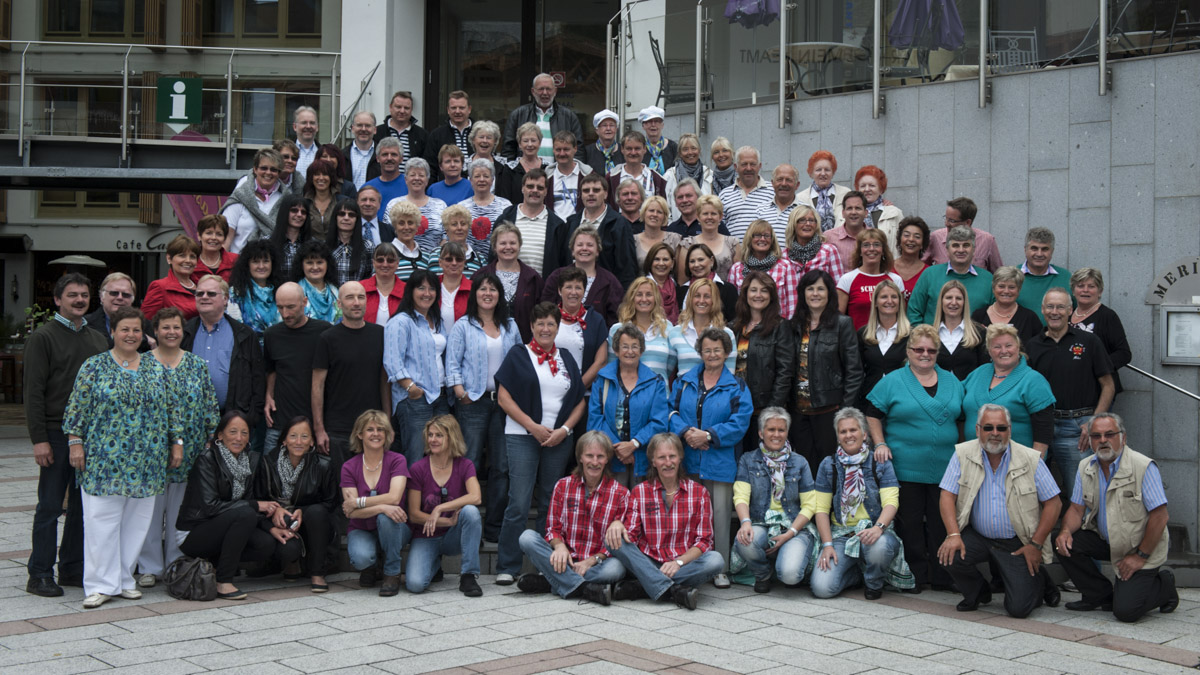 Zwillingstreffen im Pillerseetal  7. Juni 2012 - 9. Juni 2012