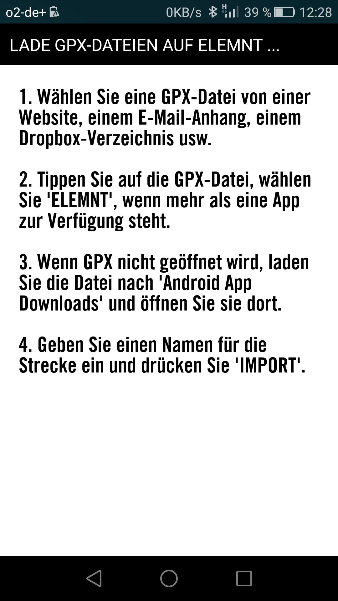 gpx routen erstellen